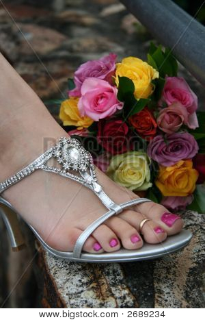 Bridesmaid Foot