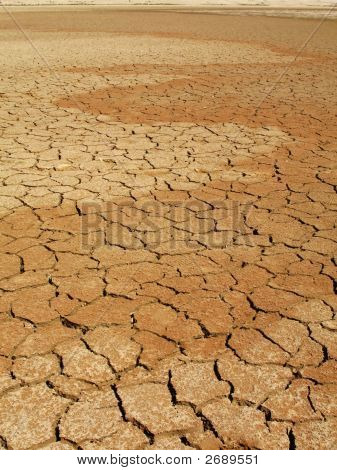 Lecho seco del lago