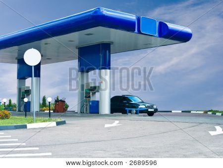 Gas Refuel Station