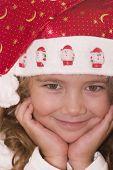 Cute Santa poster