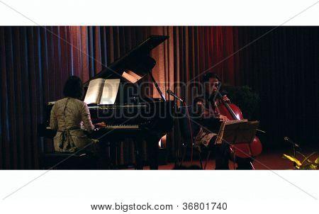 Jazz-Musik-Aufführungen