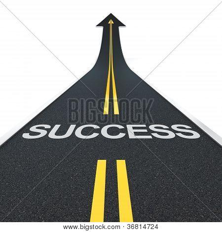 Camino de éxito