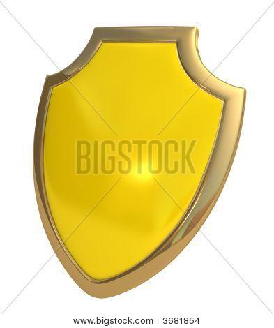 Schild Yellow