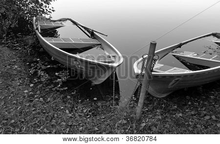 Water-filled boats