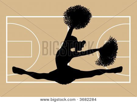 Basketball Cheerleader