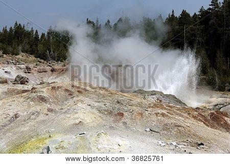 Steamboat geyser