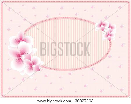 Vector wedding card or invitation