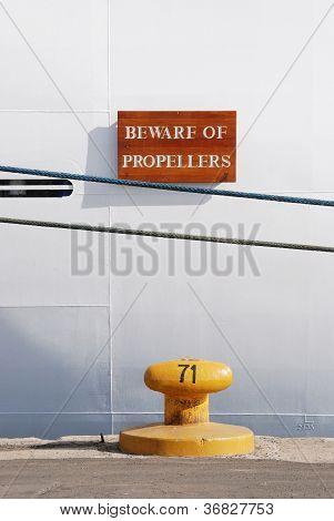 Beware Propellers