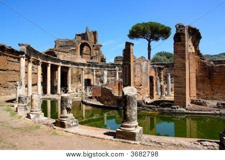 Villa Adriana in der Nähe von Rom Italien