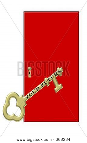 Gold Key And Red Door - Your Future