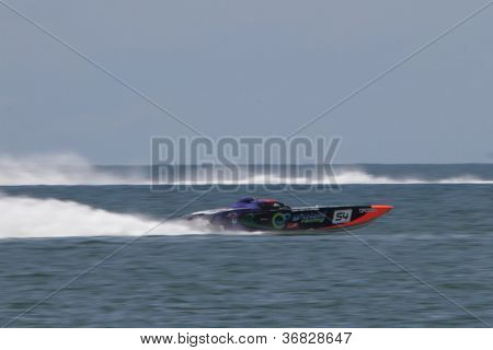Brisbane, Australia - September 16 : Team Global Racing Participating In Round 5 Of Offshore Superbo
