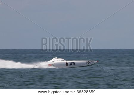 Brisbane, Australia - September 16 : Team The Good Guys Participating In Round 5 Of Offshore Superbo