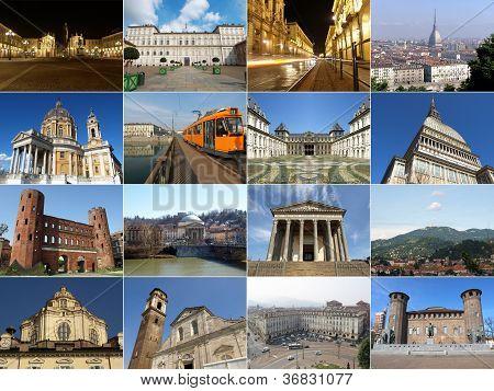 Turin landmarks