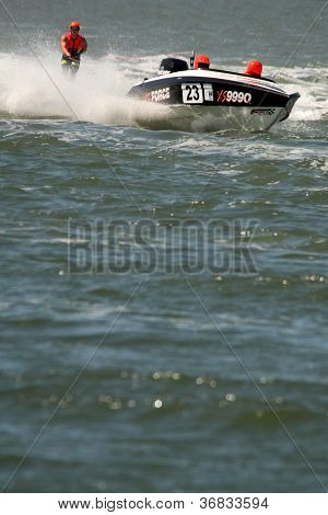 Brisbane, Australia - September 15 : Team Wgr And Andrew Griffin In Australian Water Ski Racing Cham