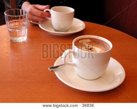 Reunión café