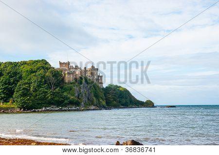 Culzean Castle from the sea