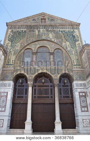Umayyad Mosque In Damascus Syria