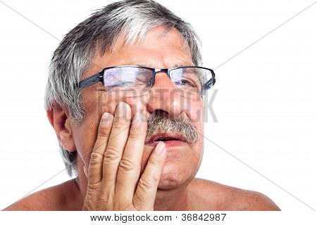 Senior With Toothache
