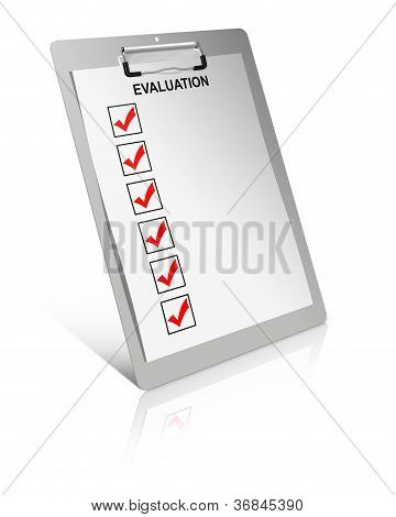 Evaluation List