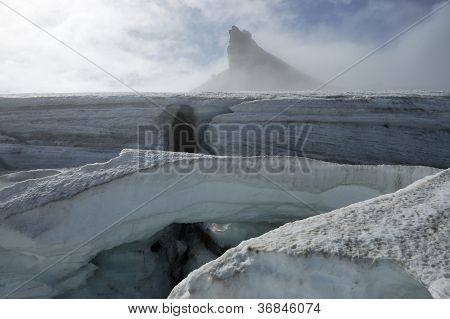 Snaefellsjokull Glacier, Iceland.
