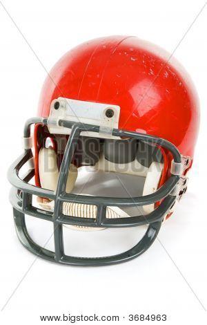 Fußball Helm isoliert