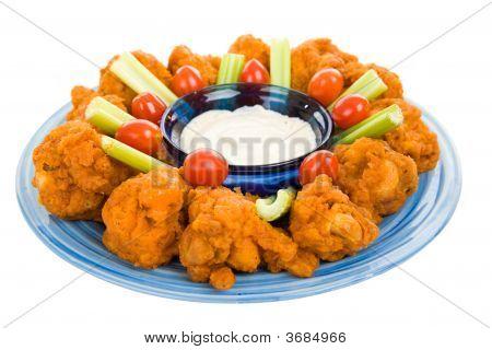 Spicy Chicken Wing Platter
