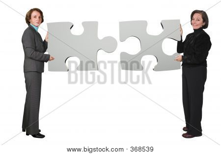 Business Women - Puzzle Pieces