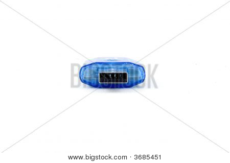 Front View Of Usb Stick Isolated On White Background