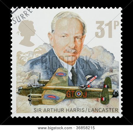 Sir Arthur Harris and RAF Lancaster