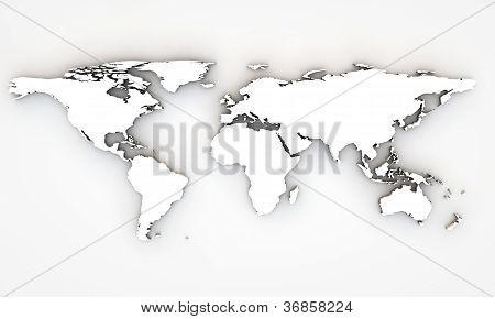 Mapa mundo 3D