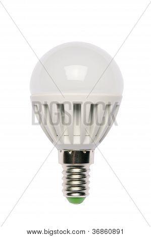 Led Energy Saving Bulb. Light-emitting Diode.