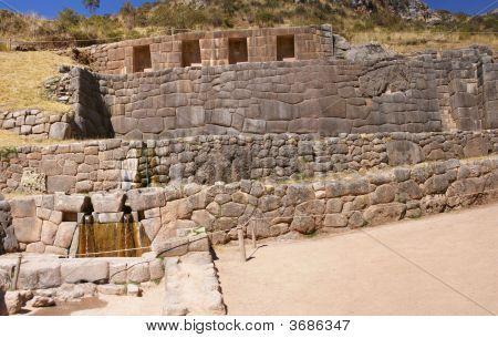 Inca Baths, Stone Architecture,  Tambo Machay