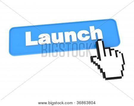 Botão de Social Media - lançamento.