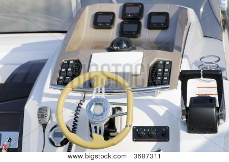 Motorboat Cockpit