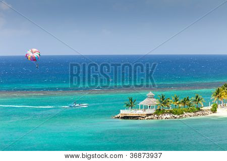 Parasailing In Jamaica