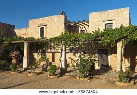 Arcadi monastery at Crete island