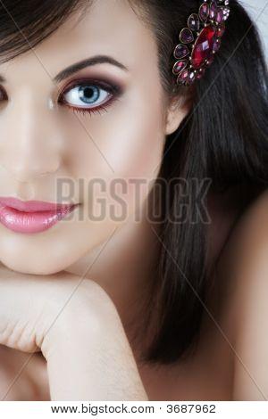 Pink Make-Up Woman