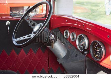 1930 Ford Street Rod Interior