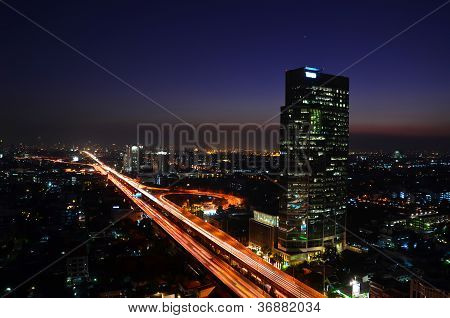 Veins Of Bangkok (evening)