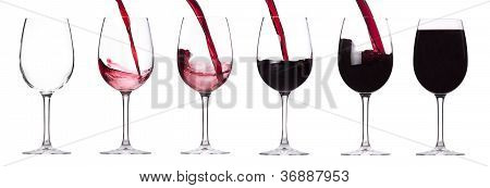 Red Wine Splashing Set
