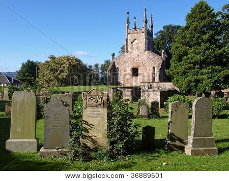 Cardross old parish church