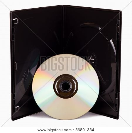 The Dvd Case Isolated