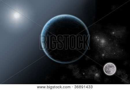 System Solar Universe