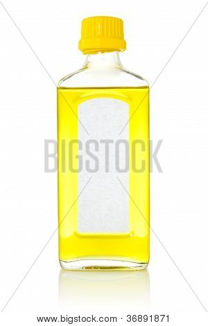 Bottle With Fish Oil