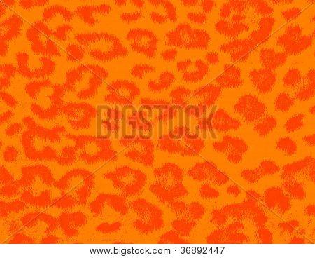 Textured leopard skin