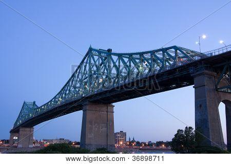 Jacques-Cartier Bridge Of Montreal