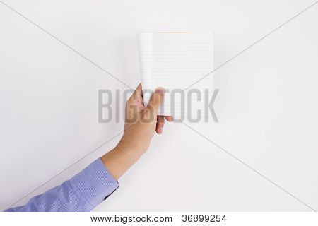men holding notepad