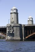 Longfellow Bridge In Boston