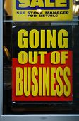 stock photo of going out business sale  - The  - JPG