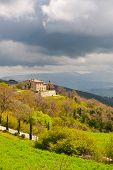 foto of apennines  - Farmhouse on the Slopes of the Apennines Italy - JPG
